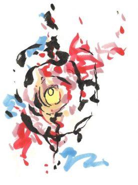 Painting by Maya Fielder